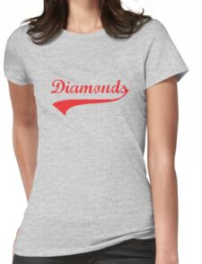 Diamonds Womens Fitted T-Shirt