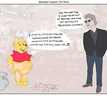 Rain Man + Winnie the Pooh by altanimus