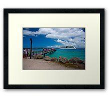 Radiance of the Seas, Lifou Framed Print