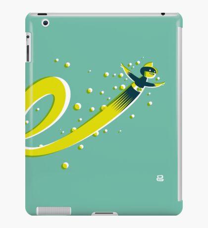 Super E (f) iPad Case/Skin
