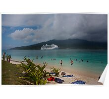 Radiance of the Seas, Mystery Island B Poster