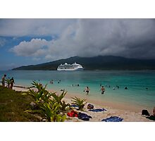 Radiance of the Seas, Mystery Island B Photographic Print
