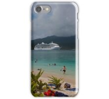 Radiance of the Seas, Mystery Island B iPhone Case/Skin