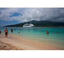 Radiance of the Seas, Mystery Island C Photographic Print