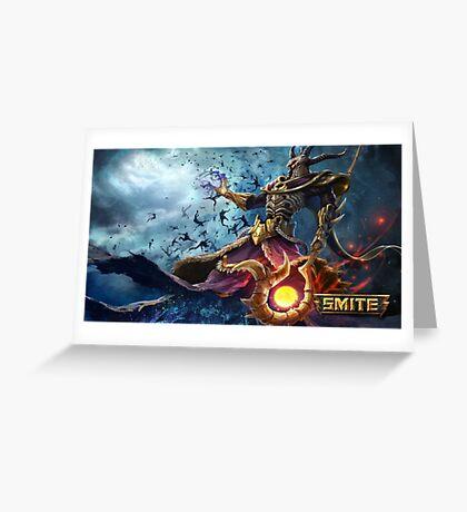 Smite Hades Greeting Card