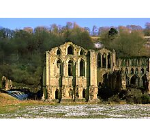 Rievaulx Abbey Photographic Print