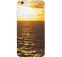 Sunset over the South Pacific iPhone Case/Skin