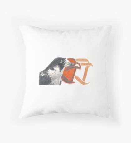 BGSU Falcons Throw Pillow