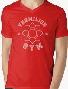 Pokemon - Vermilion City Gym Mens V-Neck T-Shirt