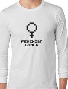 Feminist Gamer Long Sleeve T-Shirt