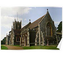Royal Sandringham Church Poster