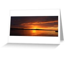 Limekilns  Sunset Greeting Card