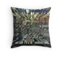 Kaoss Channel Surfing Vortex. Throw Pillow