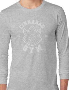Pokemon - Cinnabar Island Gym Long Sleeve T-Shirt