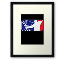 Major League Bow Hunting Framed Print