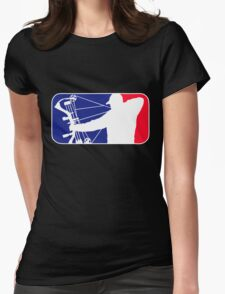 Major League Bow Hunting Womens Fitted T-Shirt