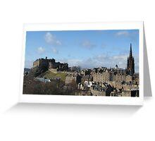 Beautiful Edinburgh Greeting Card