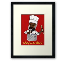 Chef Harden Framed Print