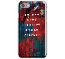 Hotline Miami Artwork iPhone Case/Skin