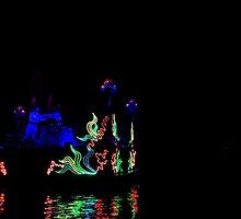 Fantasmic-Ariel & Eric by disneywithbella