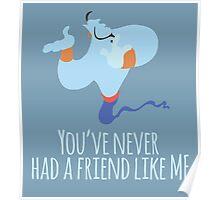Aladdin's Genie Poster