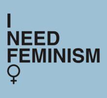 I Need Feminism  by feministshirts