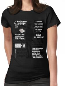 Orihara Izaya Quotes Womens Fitted T-Shirt