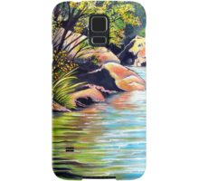 Jellybean Pool, Blue Mountains Samsung Galaxy Case/Skin