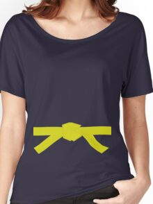 Judo Yellow Belt Women's Relaxed Fit T-Shirt