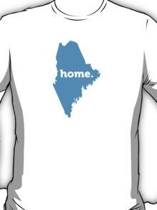 Maine Home Blue T-Shirt