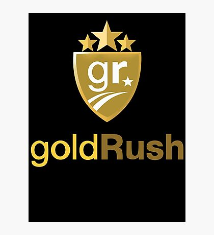 Gold Rush Rally Photographic Print