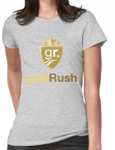 Gold Rush Rally Womens Fitted T-Shirt
