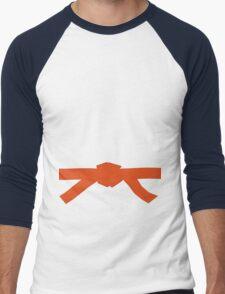 Judo Orange Belt Men's Baseball ¾ T-Shirt