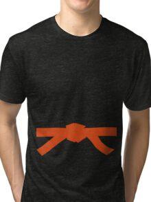 Judo Orange Belt Tri-blend T-Shirt