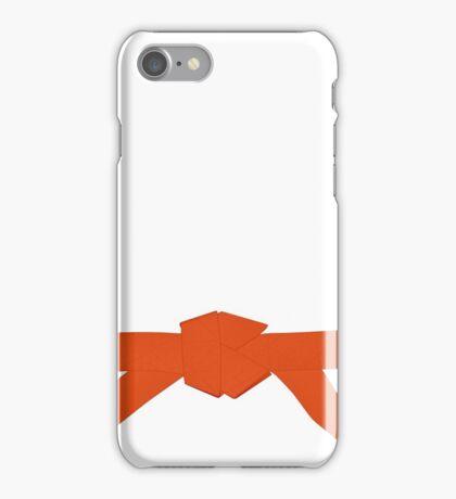 Judo Orange Belt iPhone Case/Skin