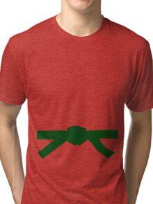 Judo Green Belt Tri-blend T-Shirt