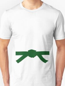 Judo Green Belt Unisex T-Shirt