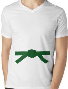 Judo Green Belt Mens V-Neck T-Shirt