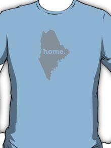 Maine Home Grey T-Shirt