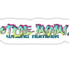 Hotline Miami 2  Sticker