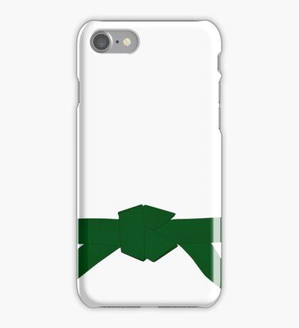 Judo Green Belt iPhone Case/Skin