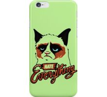 hate everthyng iPhone Case/Skin