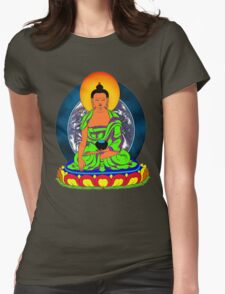 Earth Buddha Womens Fitted T-Shirt