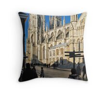 Minster 2 Throw Pillow