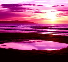 piece of sky purple  by paul35