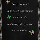 Being Beautiful by Pam Amos