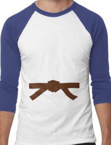 Judo Brown Belt Men's Baseball ¾ T-Shirt