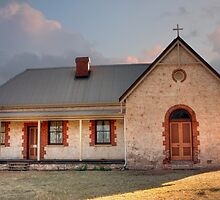 St Catherine's Anglican Church, Greenough, WA by Elaine Teague