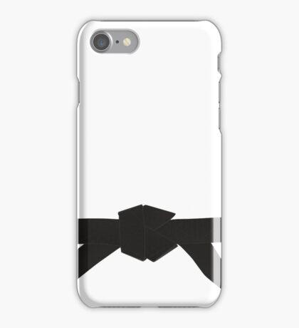 Judo Black Belt iPhone Case/Skin