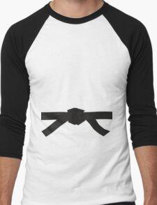 Judo Black Belt Men's Baseball ¾ T-Shirt